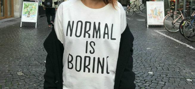 Zebra: Normal ist langweilig