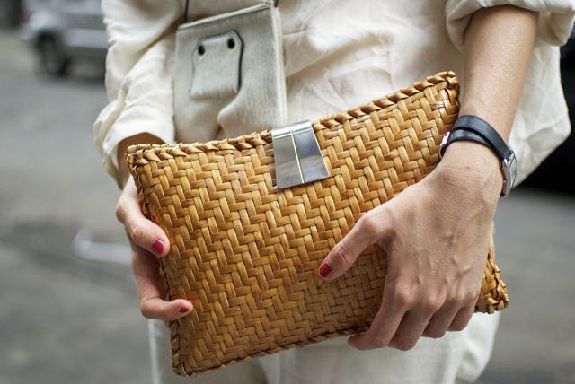 Street Style Bamboo Bag
