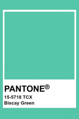 Pantone Biscay Green