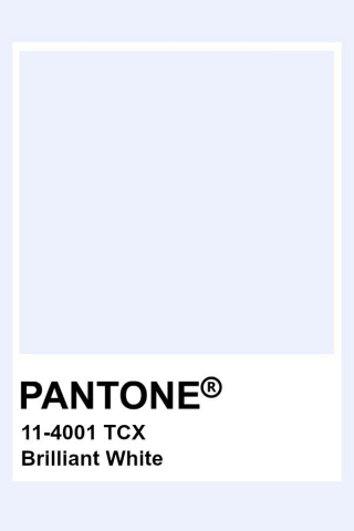 Pantone Brilliant White