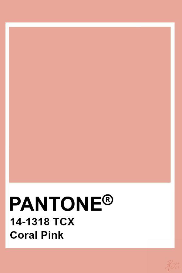Pantone Coral Pink