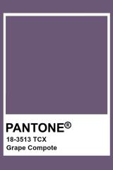 Pantone Grape Compote