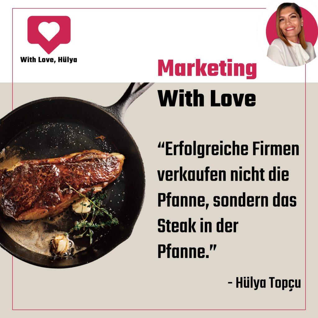 Mehrwert und Nutzen verkaufen im Marketing | With Love, Hülya