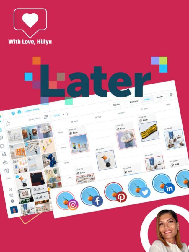 Tooltipp: Later Social Media Scheduler