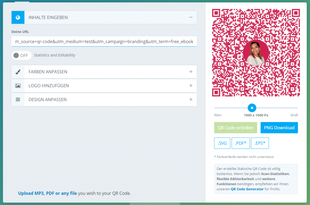 qrcode generator qrcodemonkey ebook | With Love, Hülya