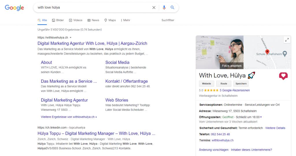 Marketing-Tool: Google My Business