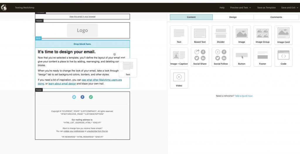 Marketing-Tool: Mailchimp